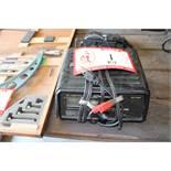 Shoemacher Model SE-1052 12 Volt Battery Charger & Black & Decker Jigsaw