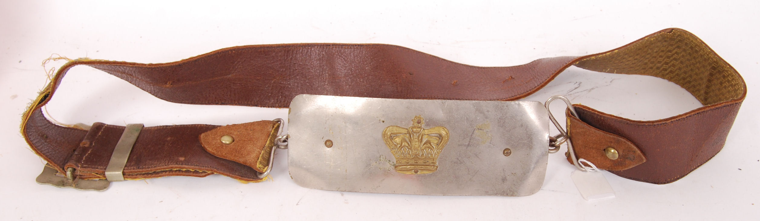 Lot 218 - VICTORIAN CROSS BELT