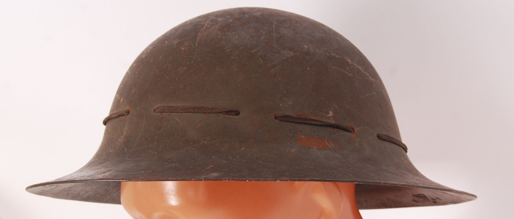 Lot 195 - WWII HELMET