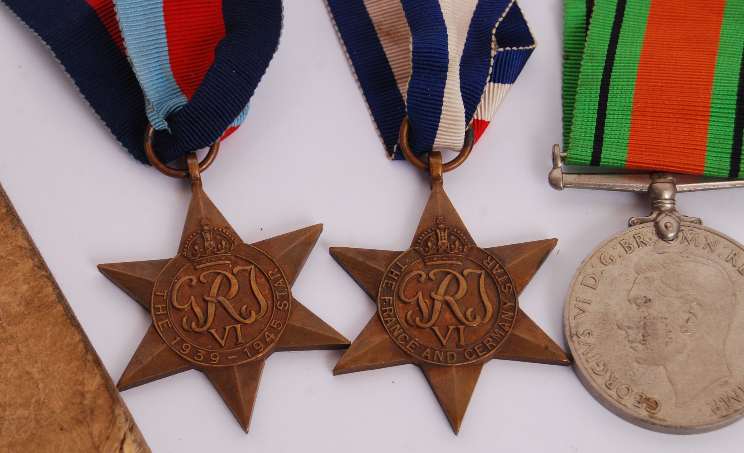 Lot 312 - WWII MEDAL GROUP