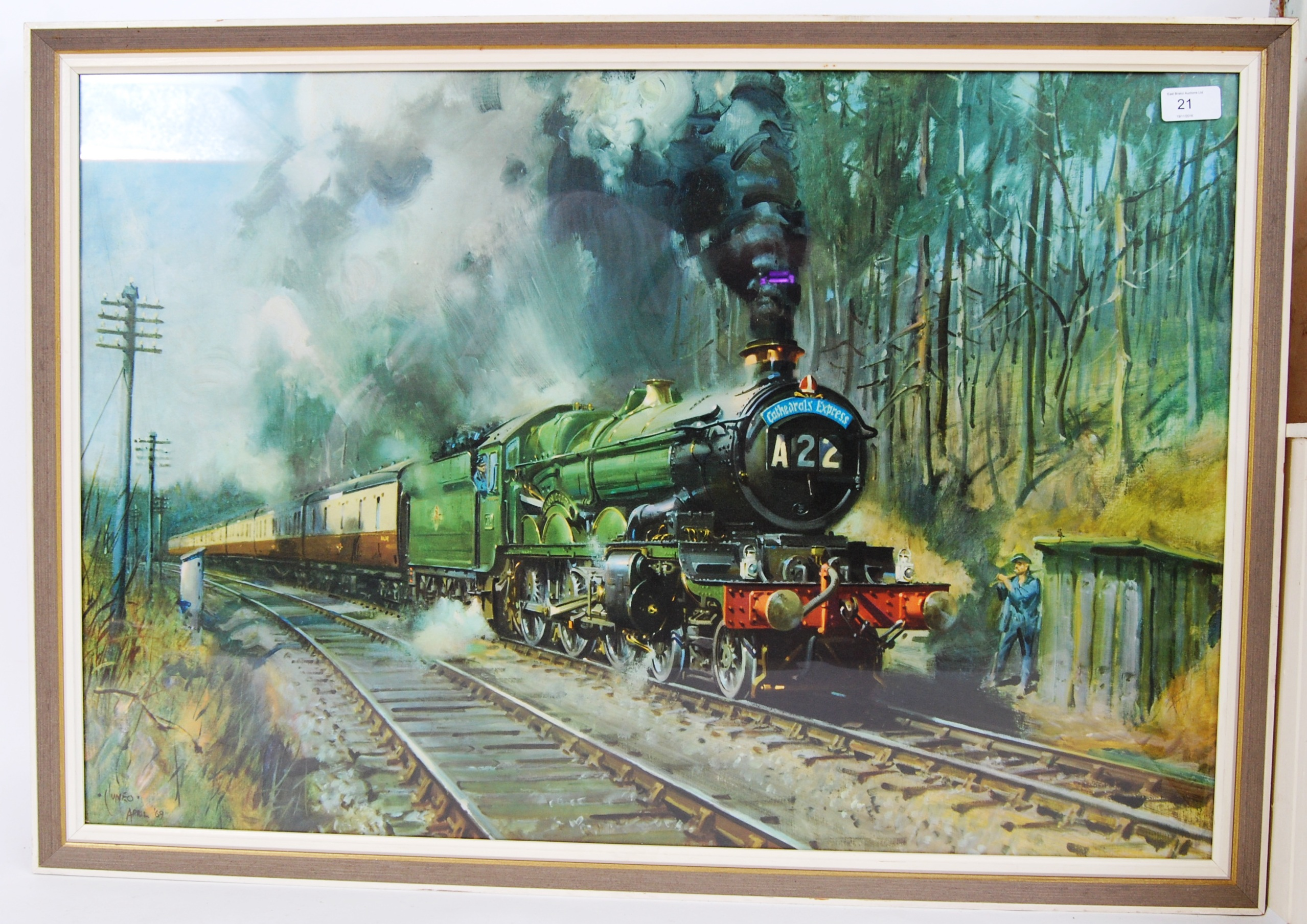 Lot 220 - TERENCE CUNEO: