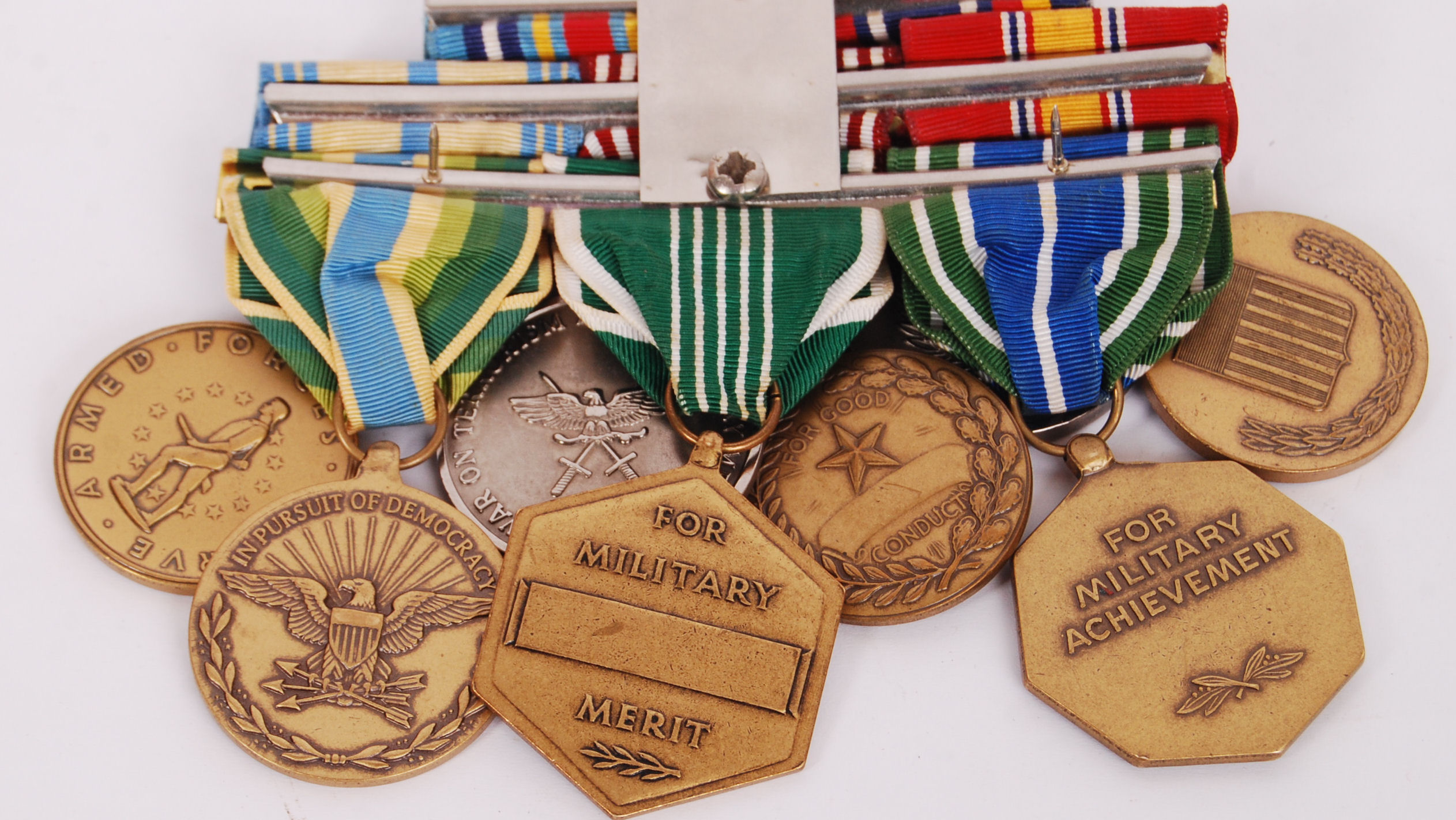 Lot 281 - US MEDALS