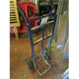 Sack truck. Located: AC Interiors, Unit A1, Deseronto Trading Estate, St Mary's Road, Slough, SL3