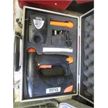 Torq RT50 CTD battery stapler. Located: AC Interiors, Unit A1, Deseronto Trading Estate, St Mary's
