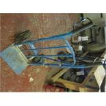 Mac Alister sack truck. Located: AC Interiors, Unit A1, Deseronto Trading Estate, St Mary's Road,