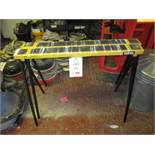 2 x Clarke collapsible work platforms. Located: AC Interiors, Unit A1, Deseronto Trading Estate,