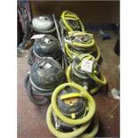 7 x assorted vacuums - unsure of working condition- for spares or repairs. Located: AC Interiors,