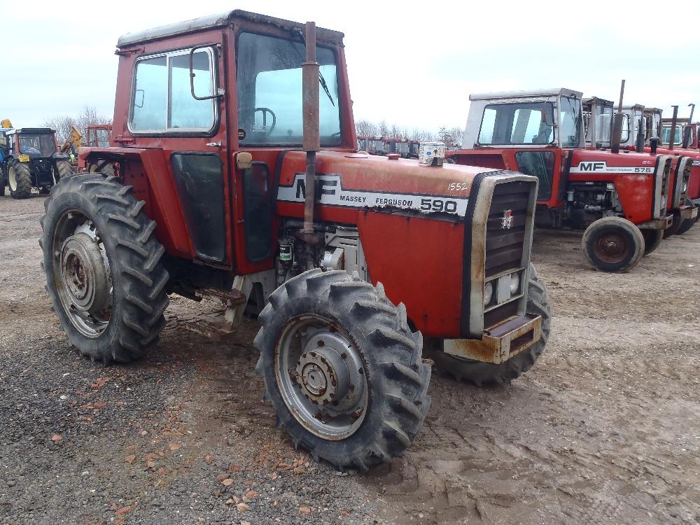4 Door Tractor : Massey ferguson wd door tractor v will be supplied