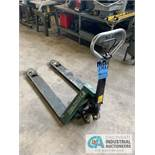 DOGHERTY EQUIPMENT CO HYDRAULIC PALLET TRUCK **BAD WHEELS**
