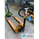 GLOBAL HYDRAULIC PALLET TRUCK **OUT OF SERVICE**