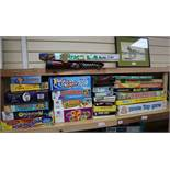 A quantity of boxed vintage and modern board games 2 boxes