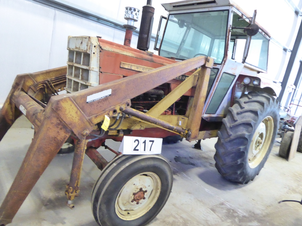 Lot 217 - COCKSHUTT 1800 DIESEL HYDRO-POWER DRIVE TRACTOR