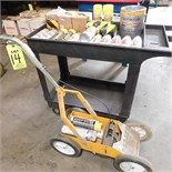 LOT - RUST-OLEUM PRODUCTS TO INCLUDE: PARKING LOT STRIPING MACHINE, AUTO PRIMER, TRAFFIC STRIPING