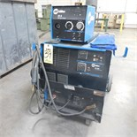 MILLER CP302 CV-DC WELDING POWER SOURCE W/22-A WIRE FEEDER, S/N MD311110V (ADVANCED RIGGERS &
