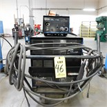 MILLER CP302 CV-DC WELDING POWER SOURCE W/MILLER S-22A WIRE FEEDER, S/N KH504958 (ADVANCED RIGGERS &