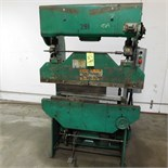 4' PRESS BRAKE, MAKE UNKNOWN (ADVANCED RIGGERS & MILLWRIGHTS LOADING FEE: $150)
