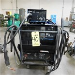 MILLER CP302 CV-DC WELDING POWER SOURCE W/22-A-S WIRE FEEDER, S/N KH392000 (ADVANCED RIGGERS &