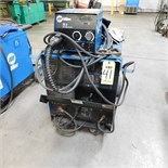 MILLER CP302 CV-DC WELDING POWER SOURCE W/22-A WIRE FEEDER, S/N MD311109V (ADVANCED RIGGERS &