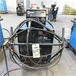 MILLER CP302 CV-DC WELDING POWER SOURCE W/MILLER 22-A WIRE FEEDER, S/N LE308440 (ADVANCED