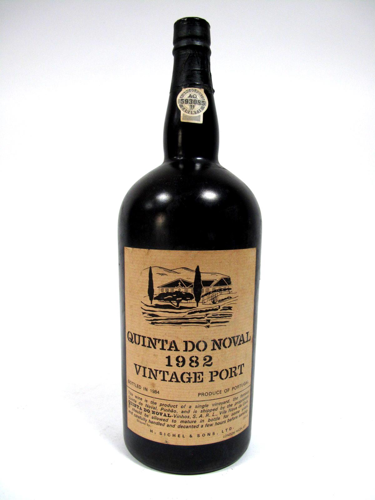 Lot 26 - Port - Quinta Do Voval 1982 Vintage Port, bottled in 1984, number 593085, 150cl.
