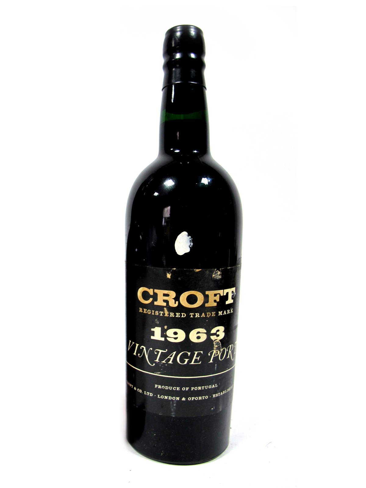 Lot 28 - Port - Croft 1963 Vintage Port.