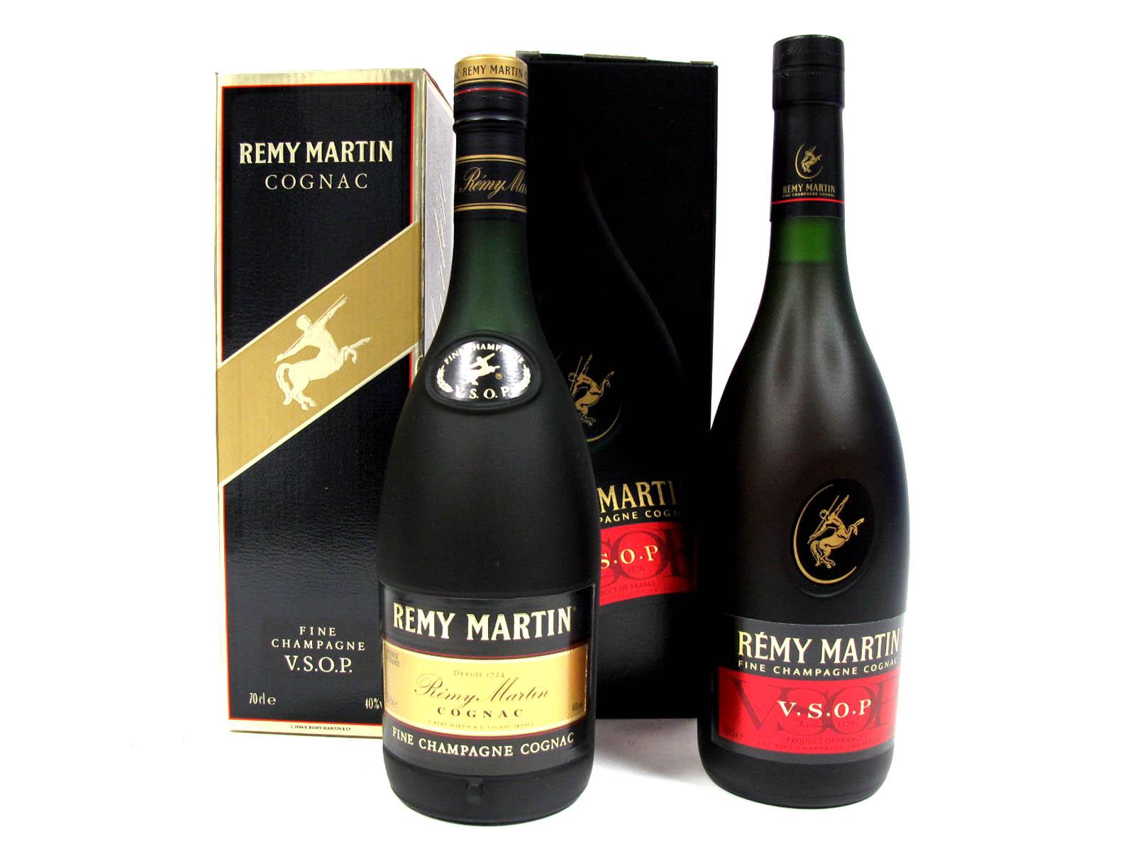 Lot 48 - Spirits - Remy Martin Fine Champagne V.S.O.P. Cognac, 70cl, 40% Vol., boxed. (2)