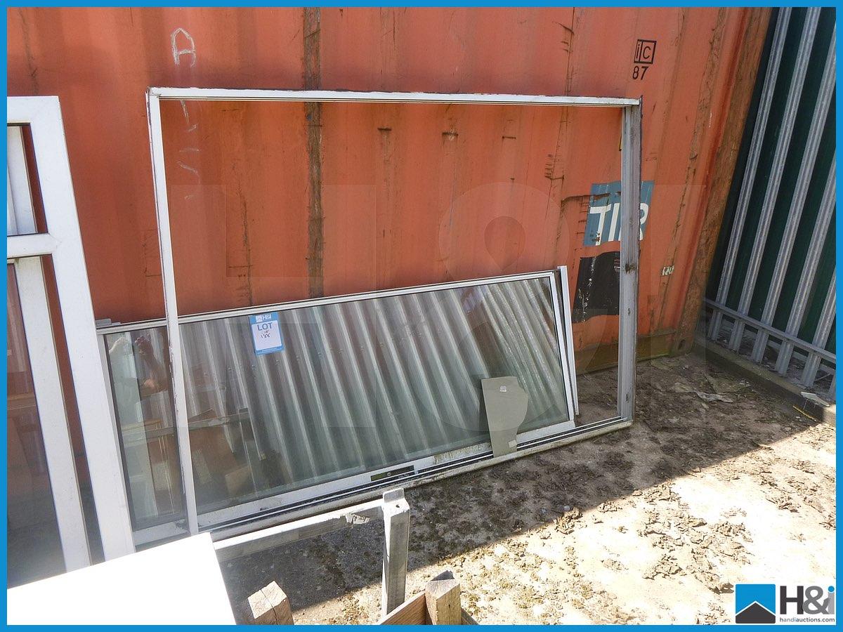 Reclaimed white upvc sliding patio door appraisal viewing for Reclaimed upvc doors