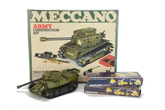 Historical Meccano Sets and memorabilia dating from the early 1900`s through to the 1970`s.