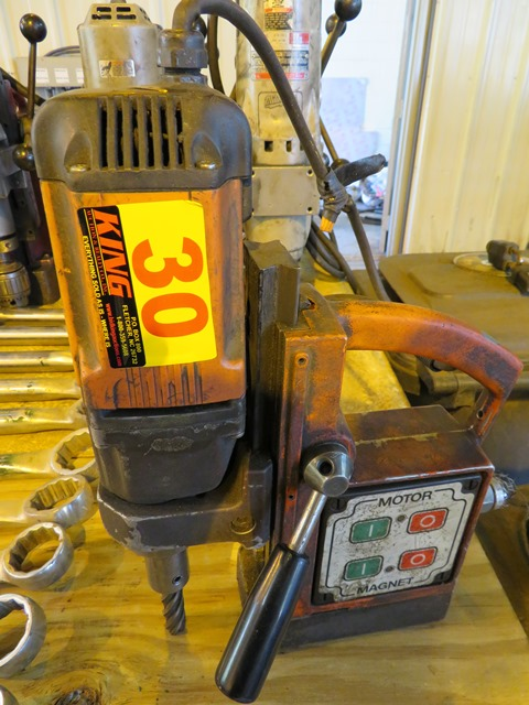 Lot 30 - Alfra Micro 32/50 Rotabest Magnetic Drill