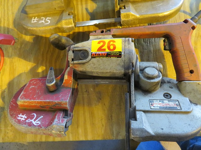 Lot 26 - Milwaukee Portable Band Saw