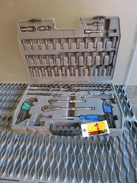 Lot 1 - Kobalt Ratchet & Wrench Set