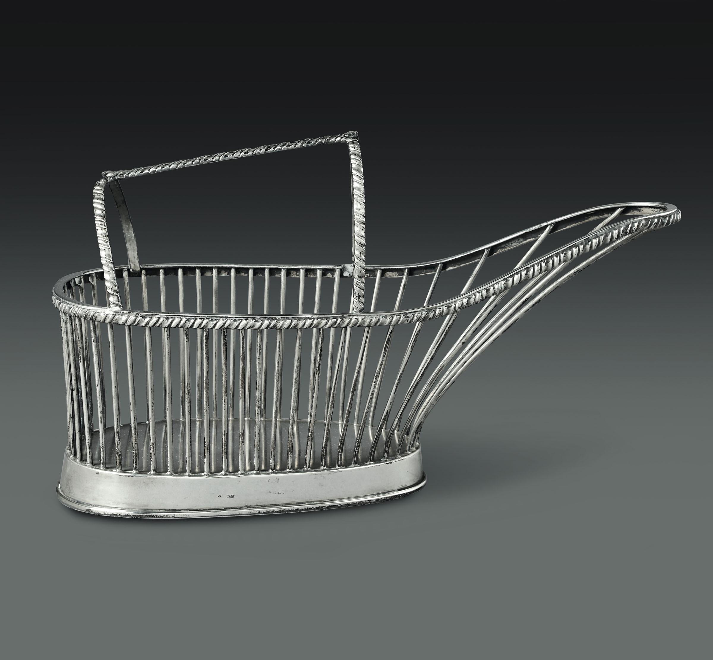 Lot 56 - Portabottiglia in argento con decoro San Marco. Argenteria artistica del XX secolo, [...]