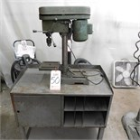 "8"" DRILL PRESS W/ STEEL CART"