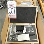 "LOT - MICROMETERS, 0-1"" AND 2-3"""