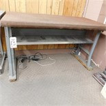 STEEL WORKBENCH, 5' X 30""
