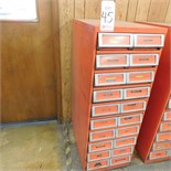 """20-DRAWER PARTS CABINET, 19"""" X 29"""" X 52"""""""