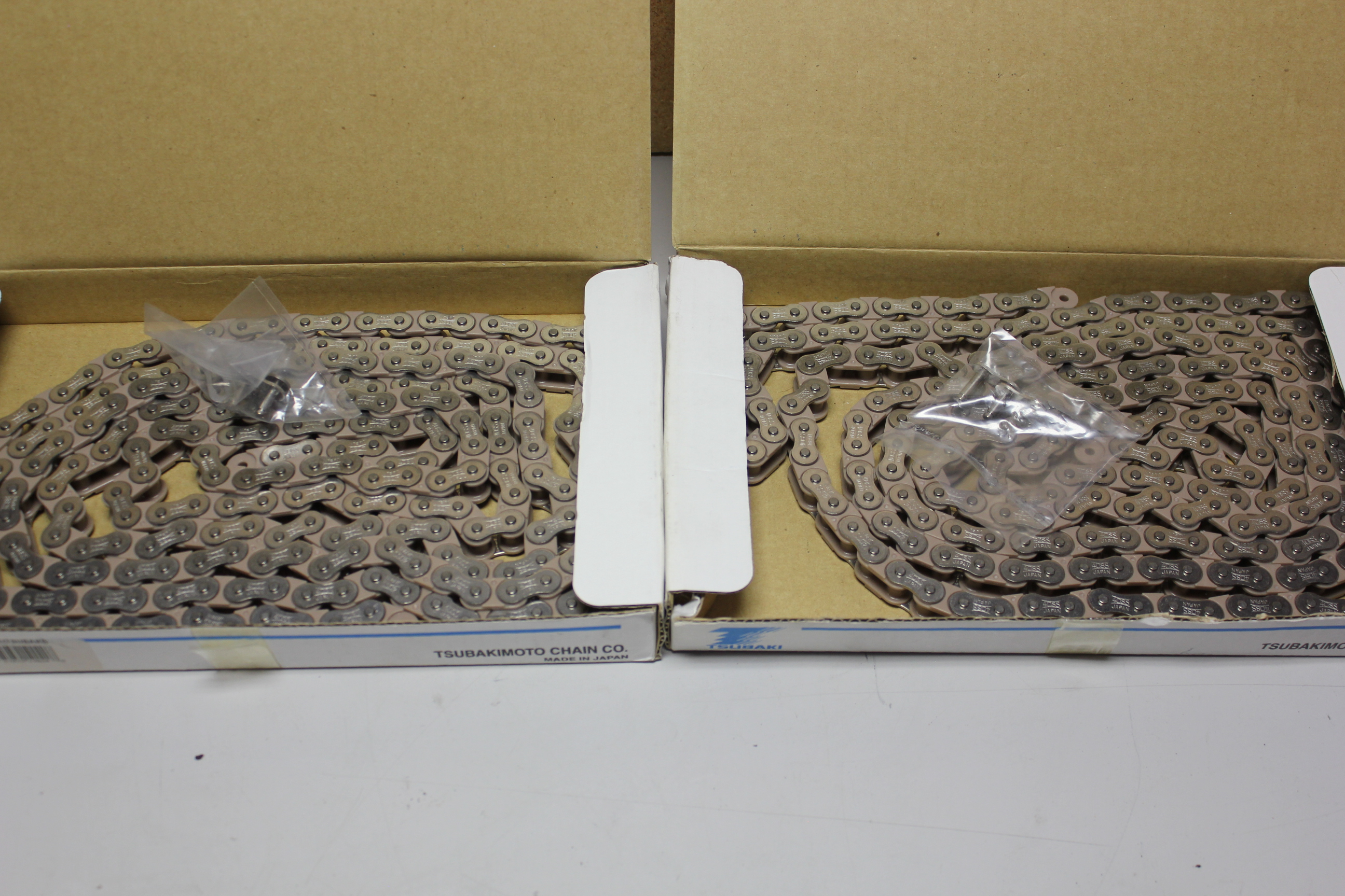 2 NEW BOXES OF TSUBAKI ROLLER CHAIN - Image 3 of 3