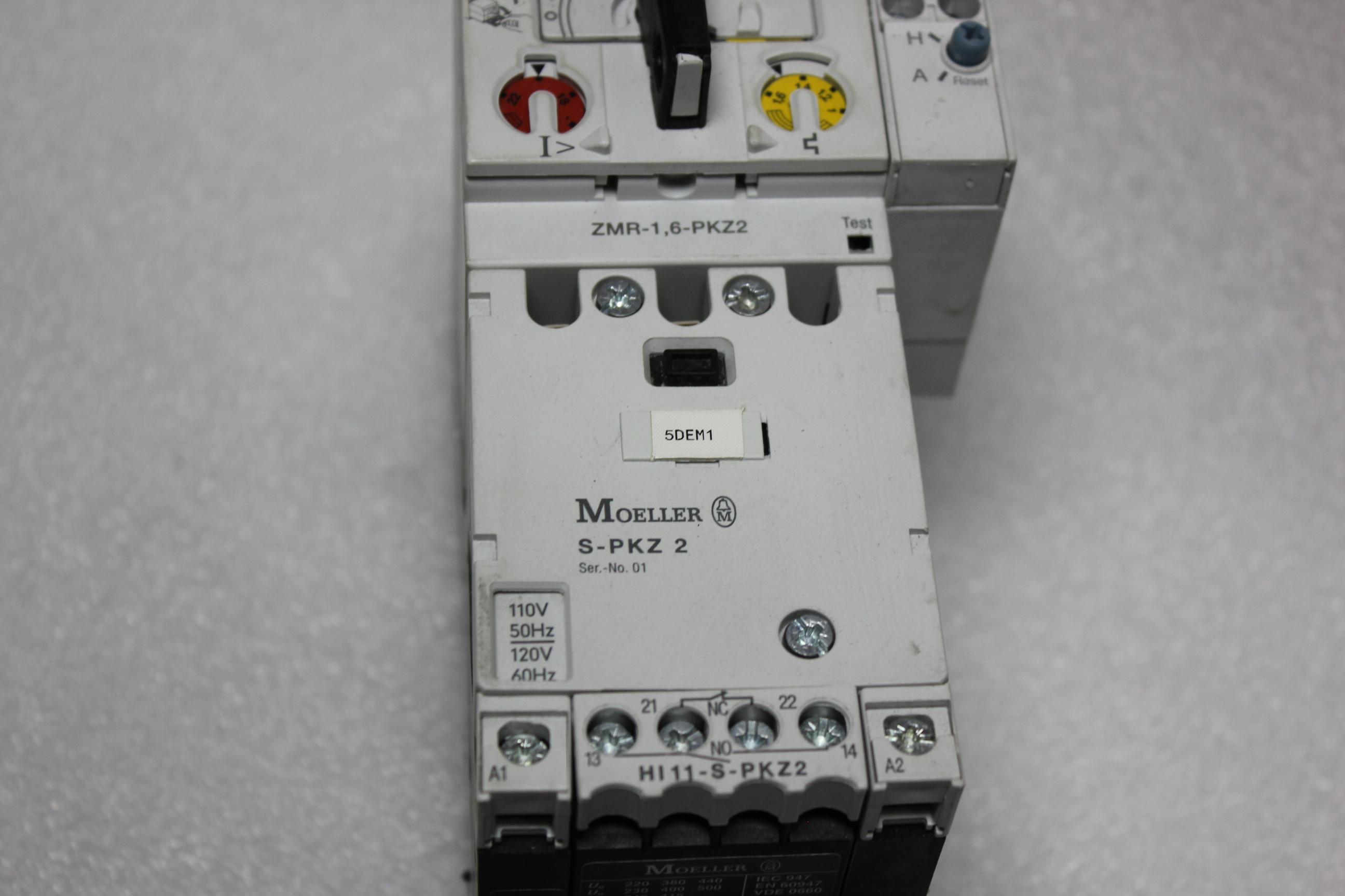 KLOCKNER MOELLER MOTOR PROTECTOR WITH REMOTE OPERATOR - Image 2 of 7