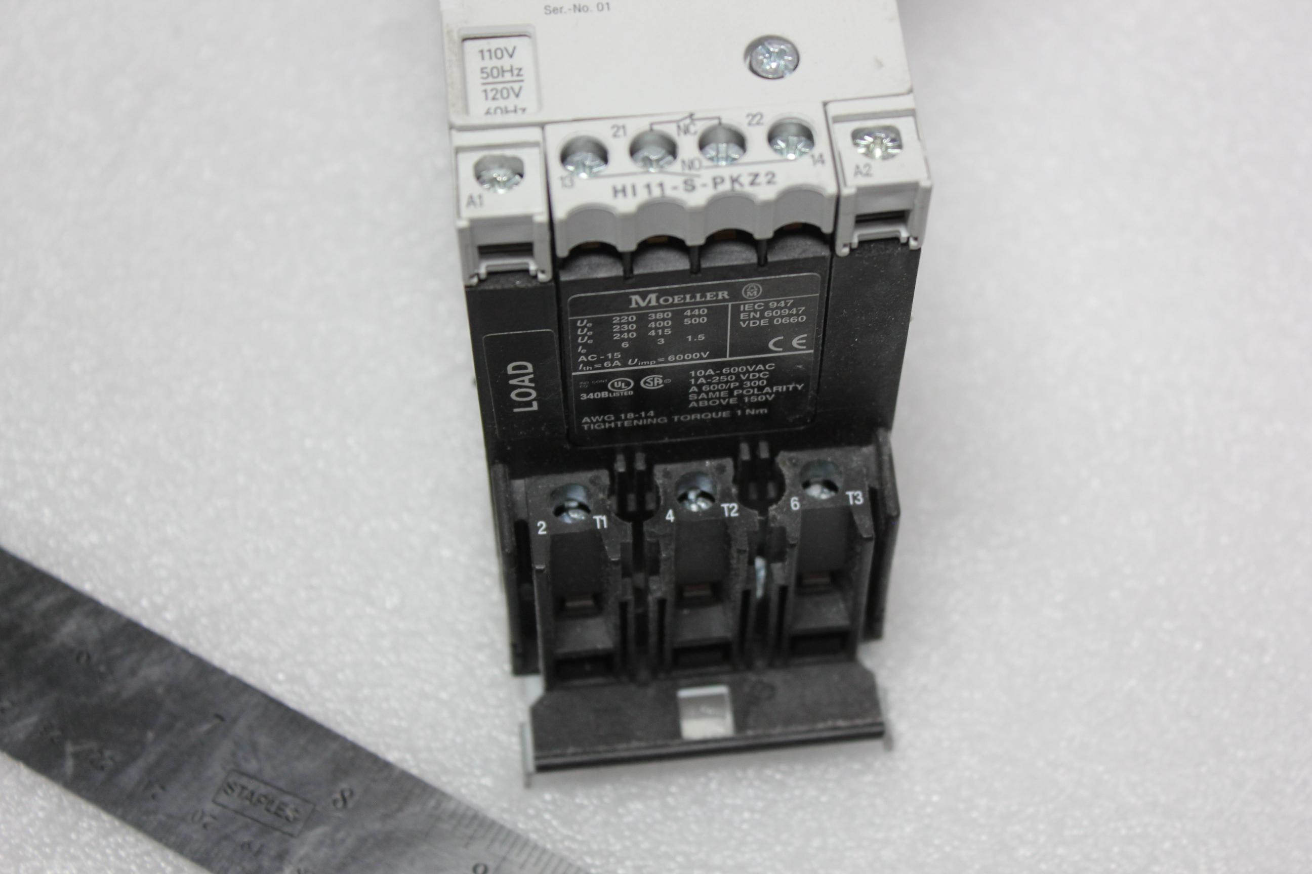KLOCKNER MOELLER MOTOR PROTECTOR WITH REMOTE OPERATOR - Image 3 of 7