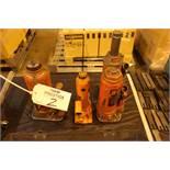 Lot of (4) Hydraulic Bottle Jacks