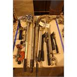 Lot of (6) Conduit and Tube Benders, (2) Cut Off and Flare Tools