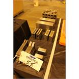 """Ground Check Block Pairs 6X3X2, 6X4X2, 1X2X3, 1X2X3, 2X1.5X1 .0001 , 2 planer gages 6"""""""