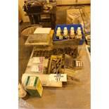 Lot of Misc. Hardware & Dye Penetrant Kit