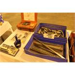Lot of (2) Hole Punch Sets, (2) Sets Snap Ring Pliers, Keyway Broaches and Guide Bushings