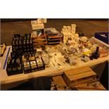 Lot of Fuse Blocks, Ampenol Connectors, Joysticks, Hole Covers, Switch Actuators, Terminal Strips,