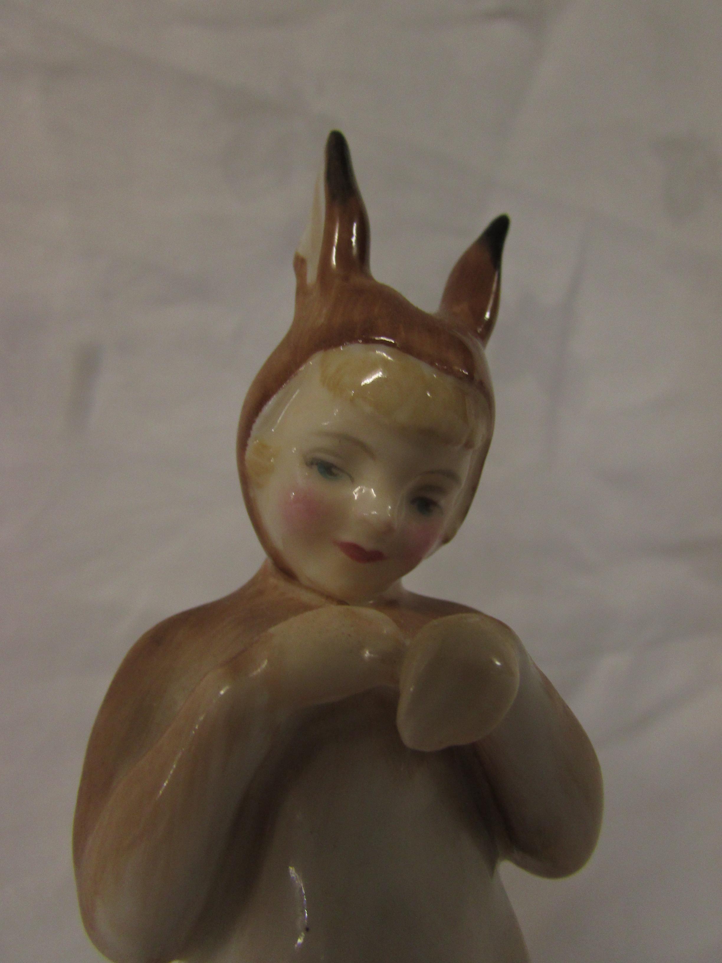 Lot 30 - Royal Doulton figure 'Baby Bunting' HN2108
