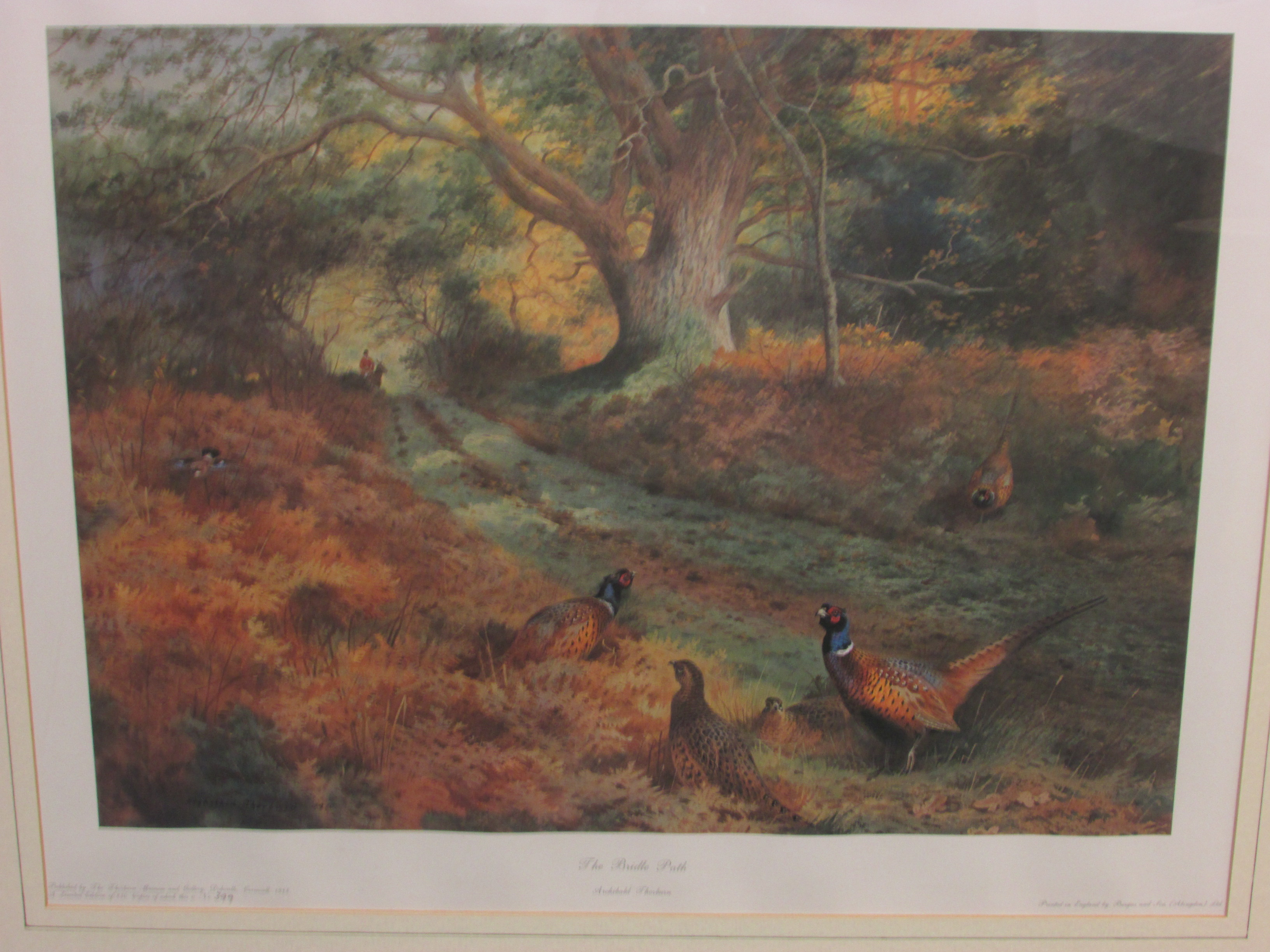 Lot 225 - After Archibald Thorburn (1860-1935) - 'The Bridle Path', limited edition colour print 399 / 850,