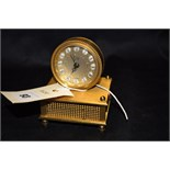 Lot 93 - A 20th Century Solo clock 'Gavotte de Louis XIII', with Swiss musical movement.