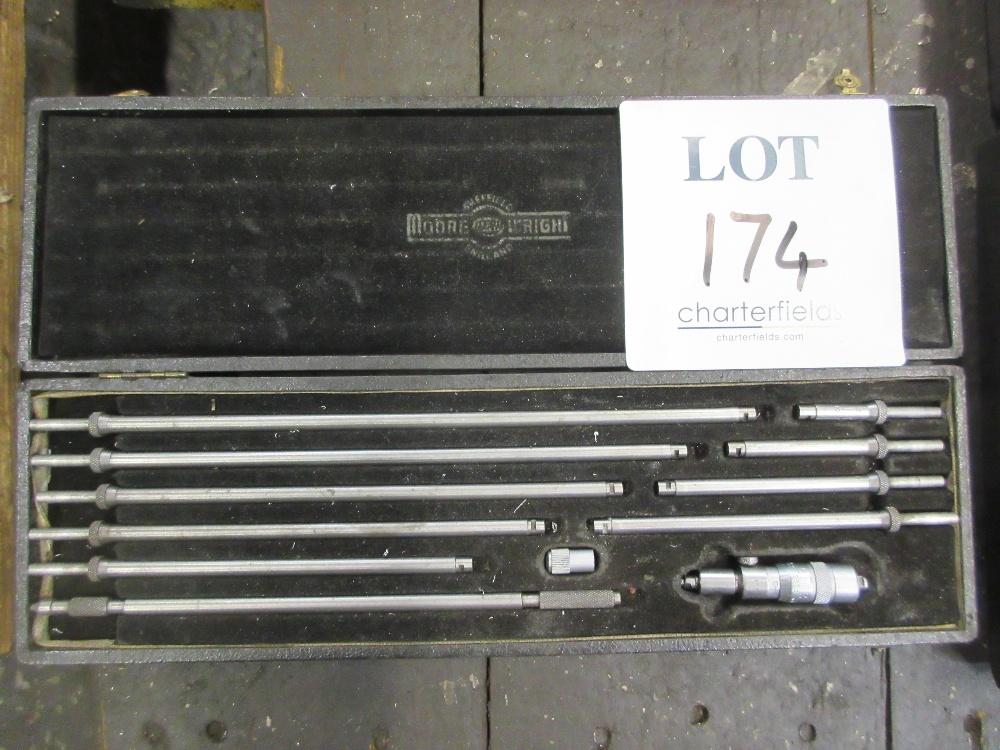 Lot 174 - Moore & Wright inside micrometer metric 50 - 300mm
