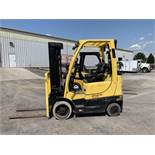 2015 HYSTER 5,000-LB., MODEL: S50FT, S/N: H187V01991N, LPG, LEVER SHIFT TRANSMISSION, SOLID TIRES,